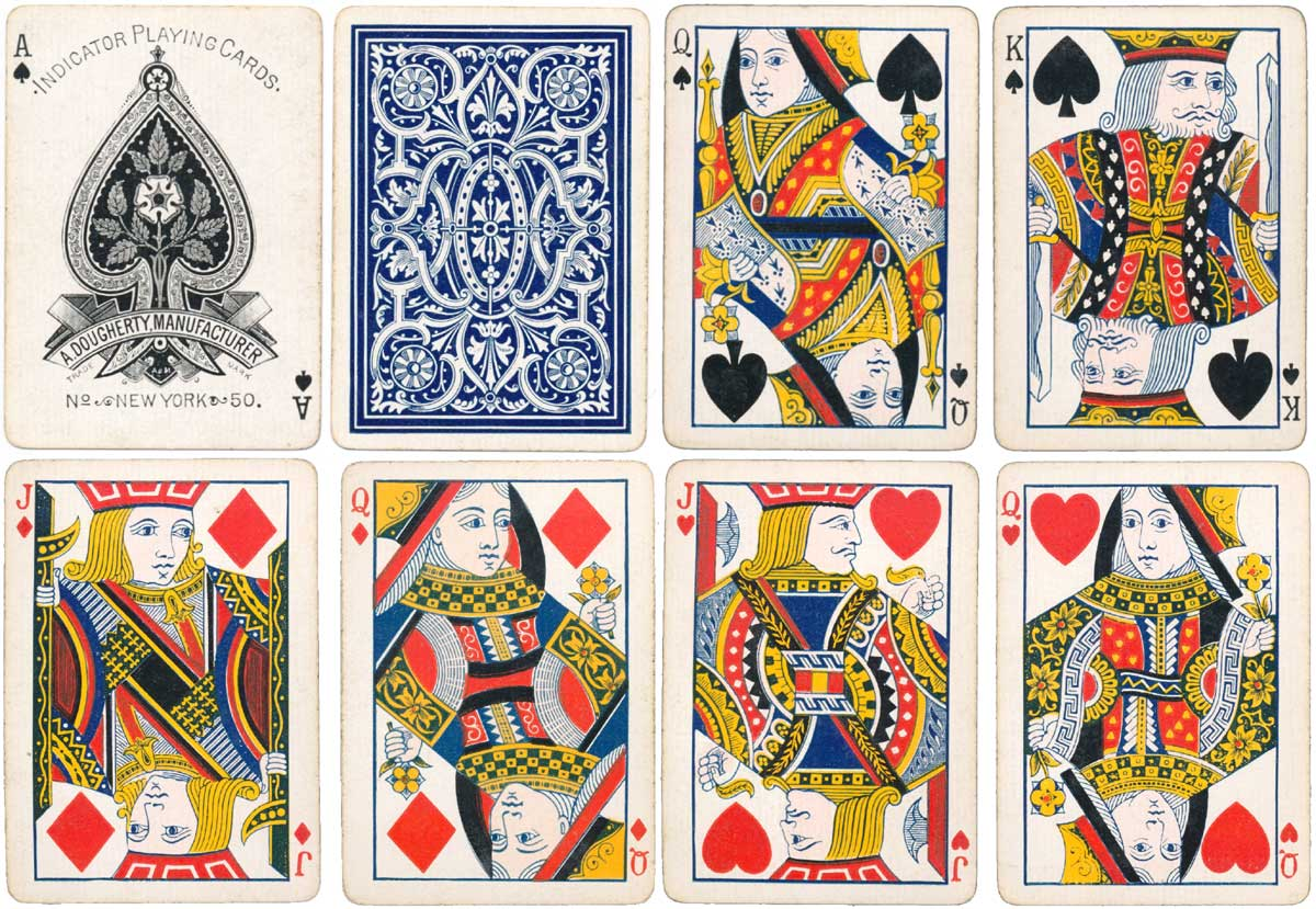 A. Dougherty's 'Indicator No.50' playing cards