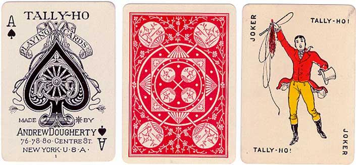 """""""Tally-Ho No.9"""" deck, c.1911"""