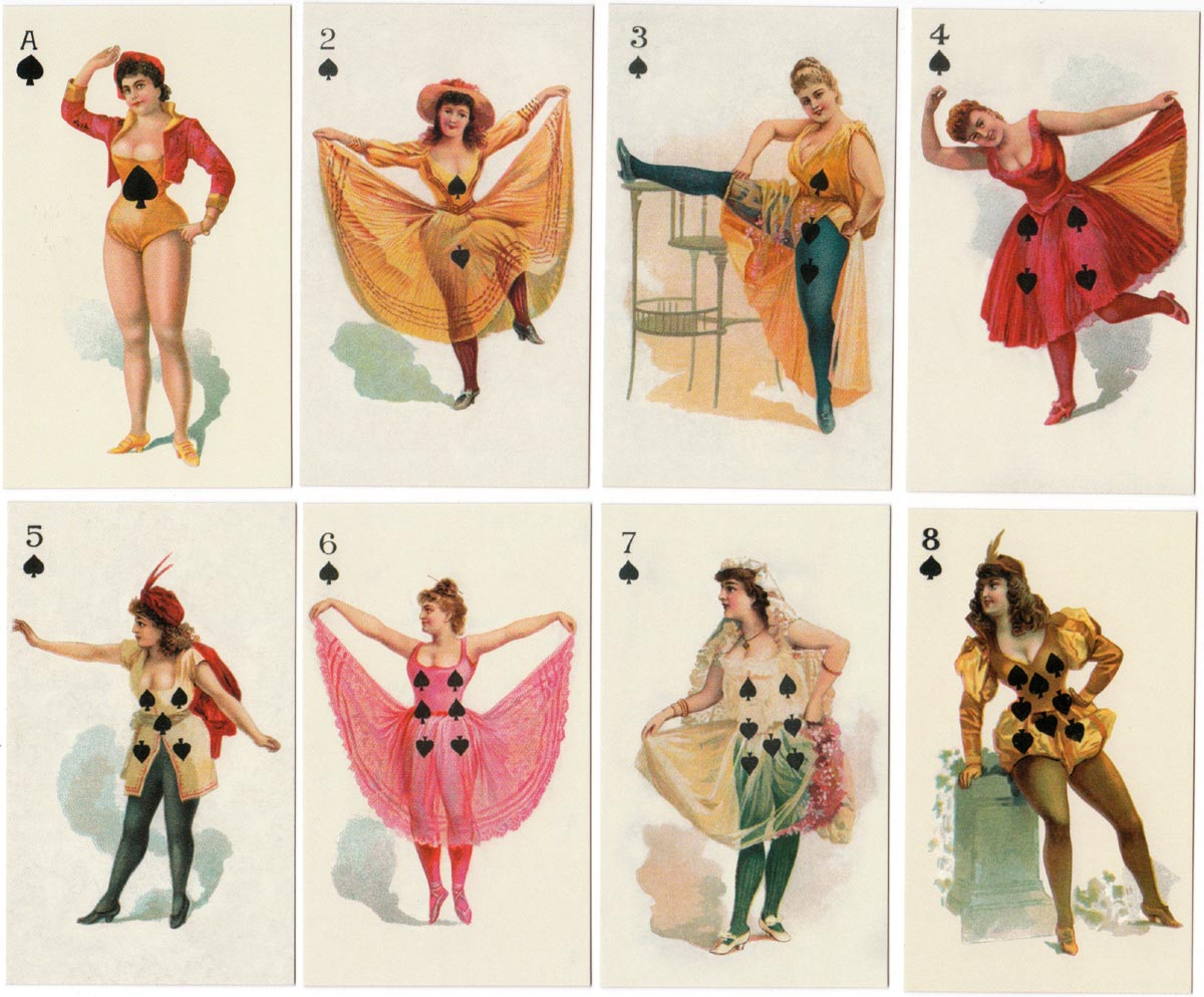 Risqué Beauties of the Theatre published in 2003 by F.G. & Co
