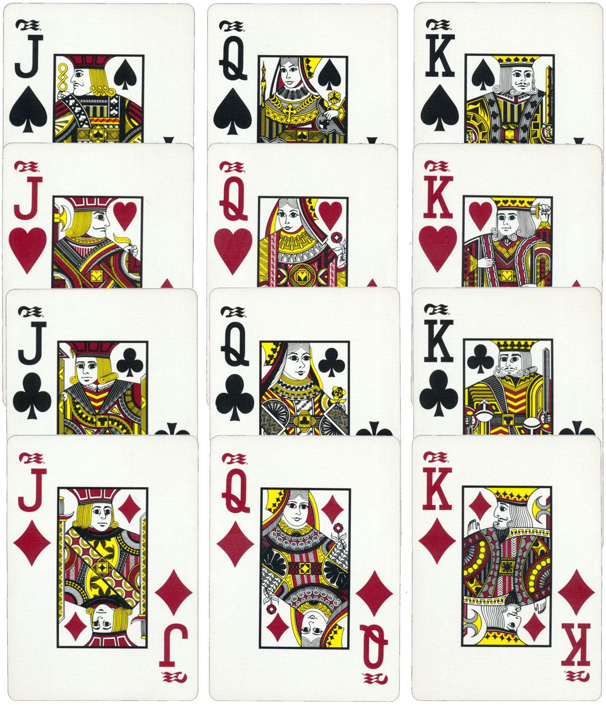 J design poker cards