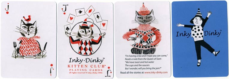 Kitten Club Playing cards, 2006