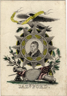 Ace of Spades by Jazaniah Ford, c.1824