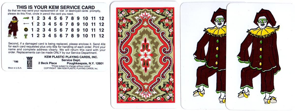 Kem Plastic Spanish Playing Cards, 1994