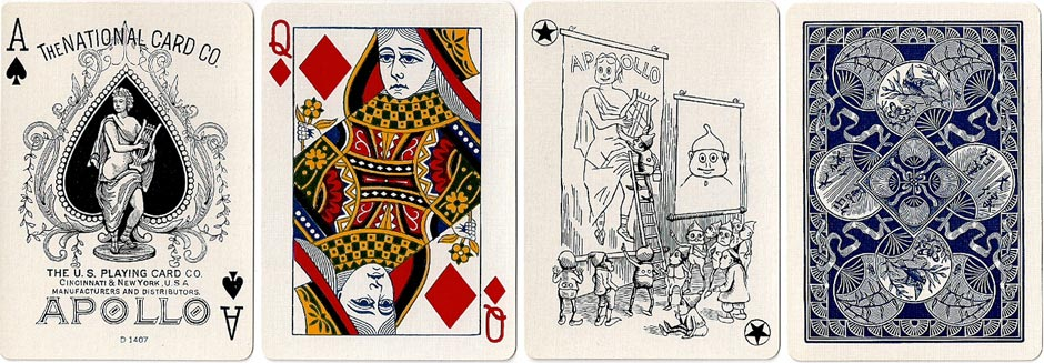 Apollo #33, the United States Playing Card Company, 1926