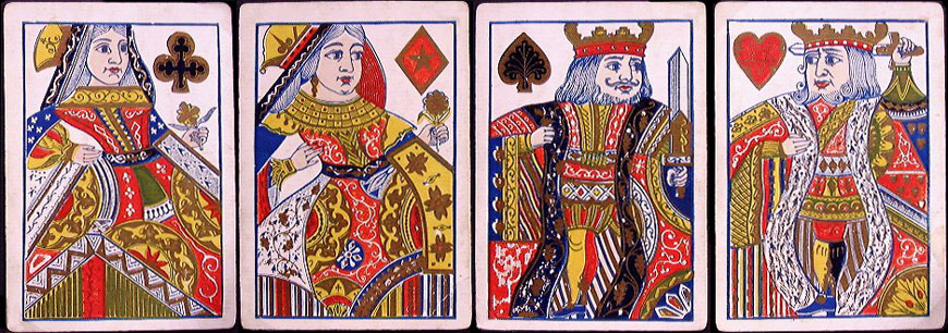 Superfine Florigated Playing Cards