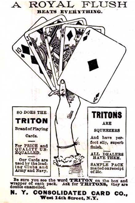 Triton advert, c.1892