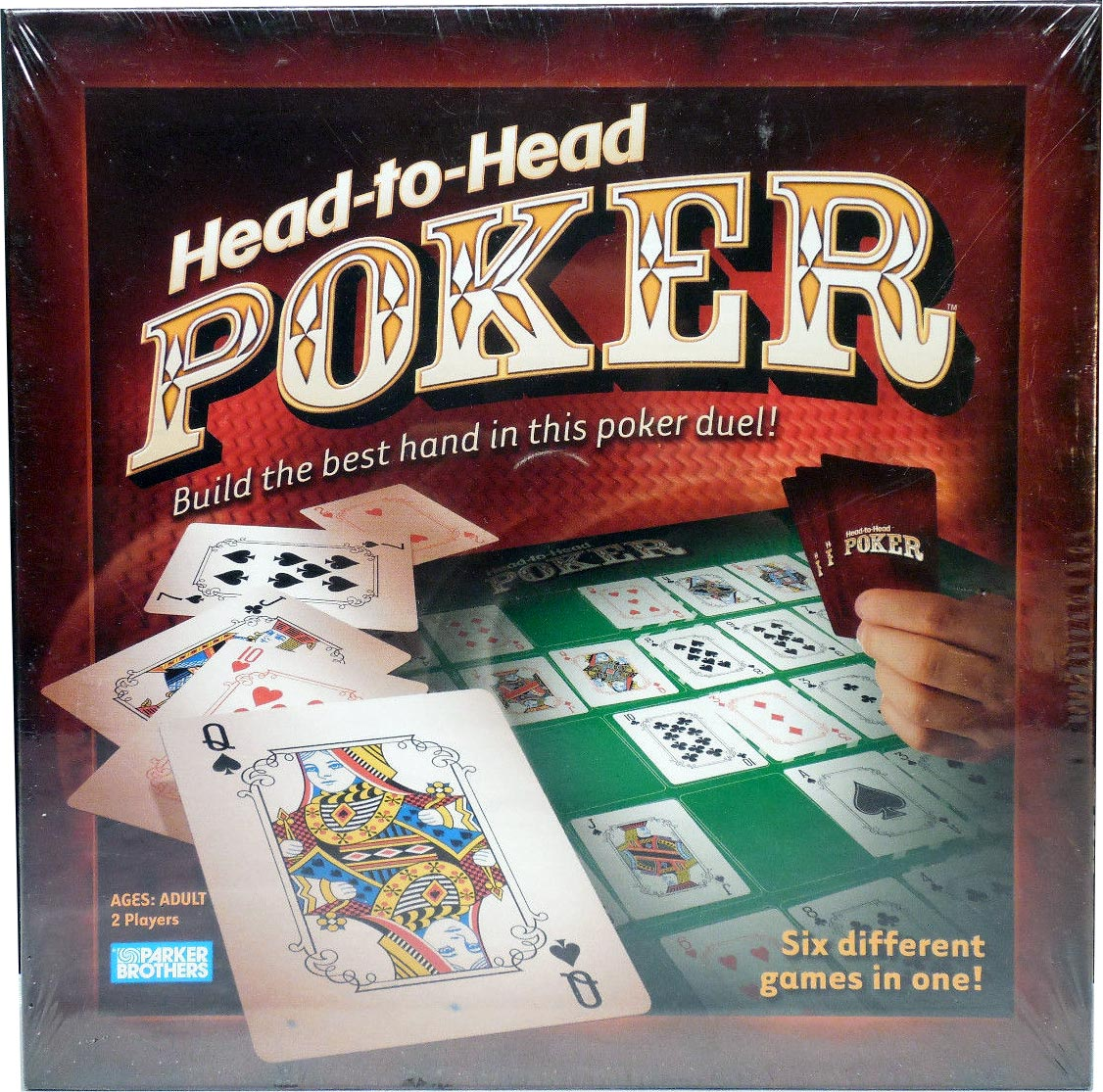 """Head-to-Head"" Poker by Parker Brothers (Hasbro), 2005"