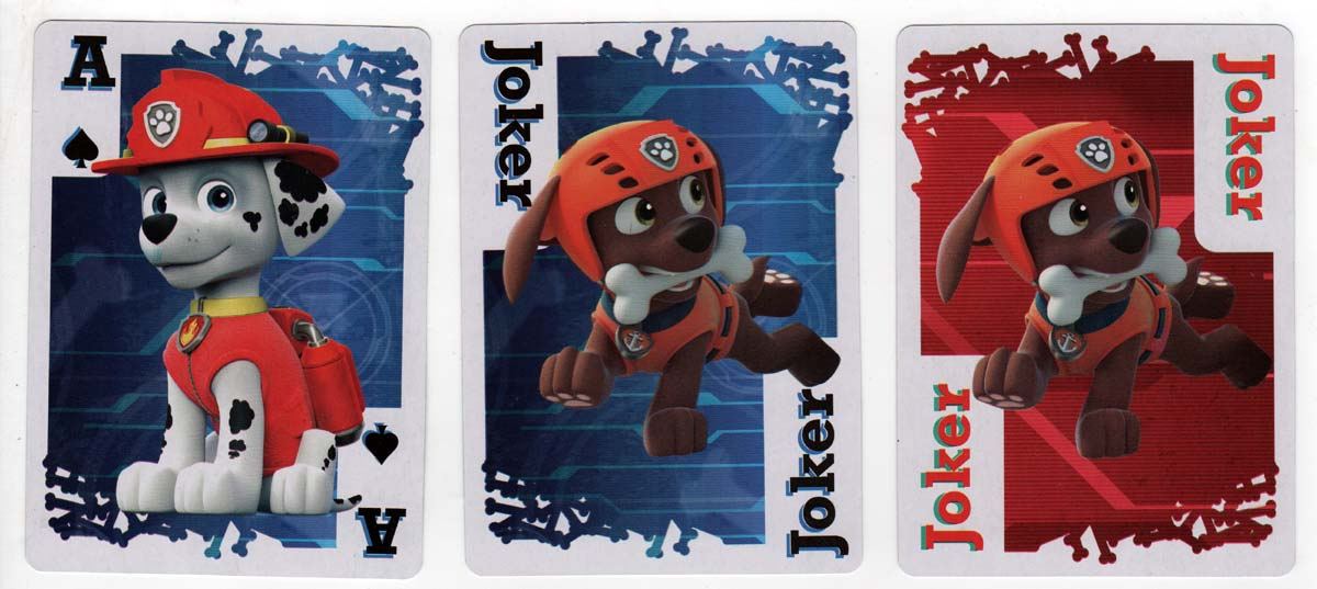 Paw Patrol Jumbo Playing Cards by Cardinal 2016