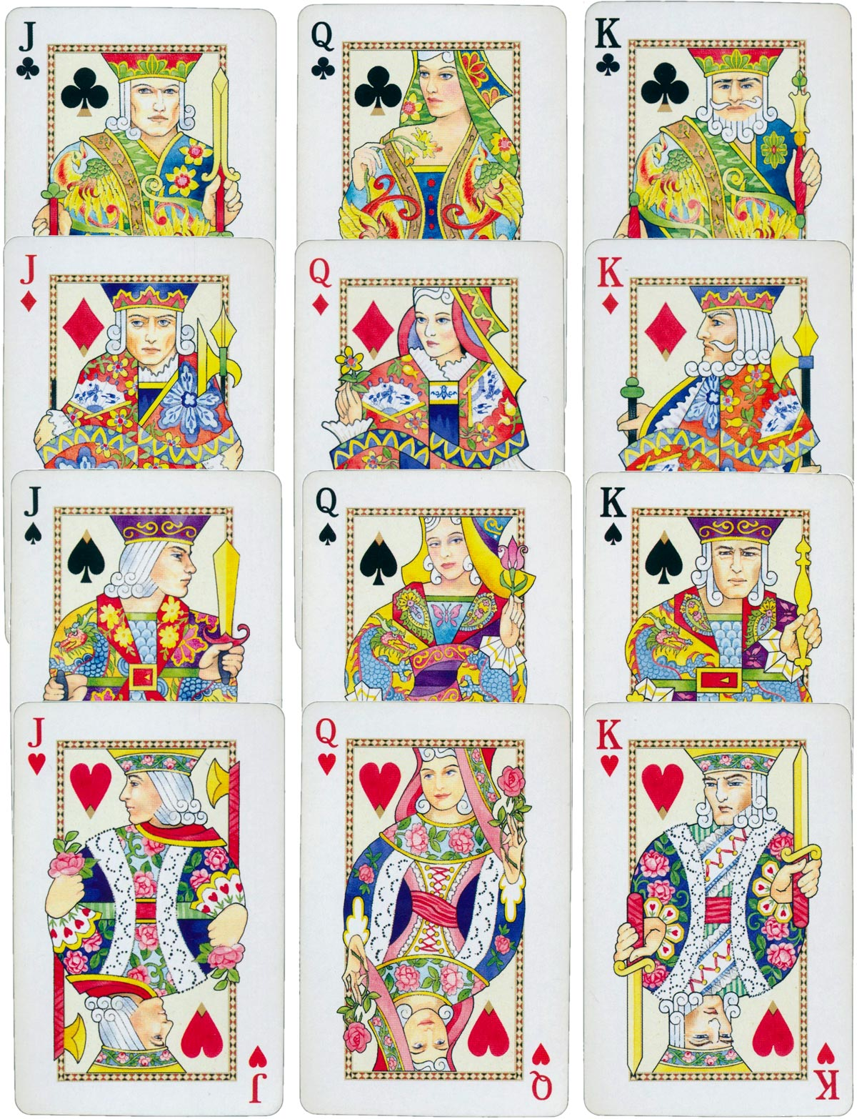 'Geisha Girls' playing cards published by Punch Studio, Culver City, CA., 2013