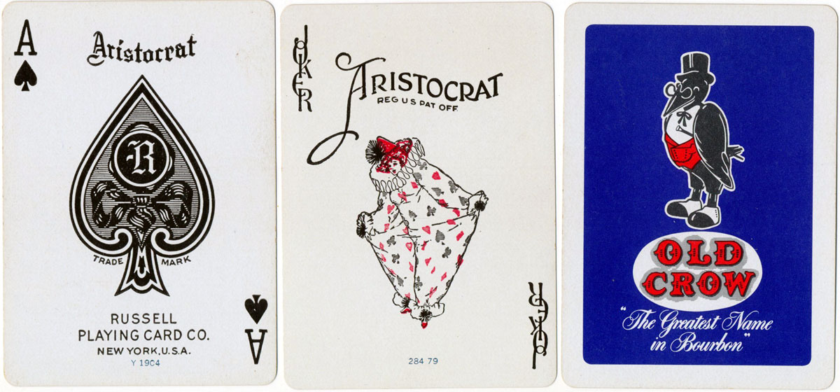 """Aristocrat"" brand with Russell ace of spades, c.1958"