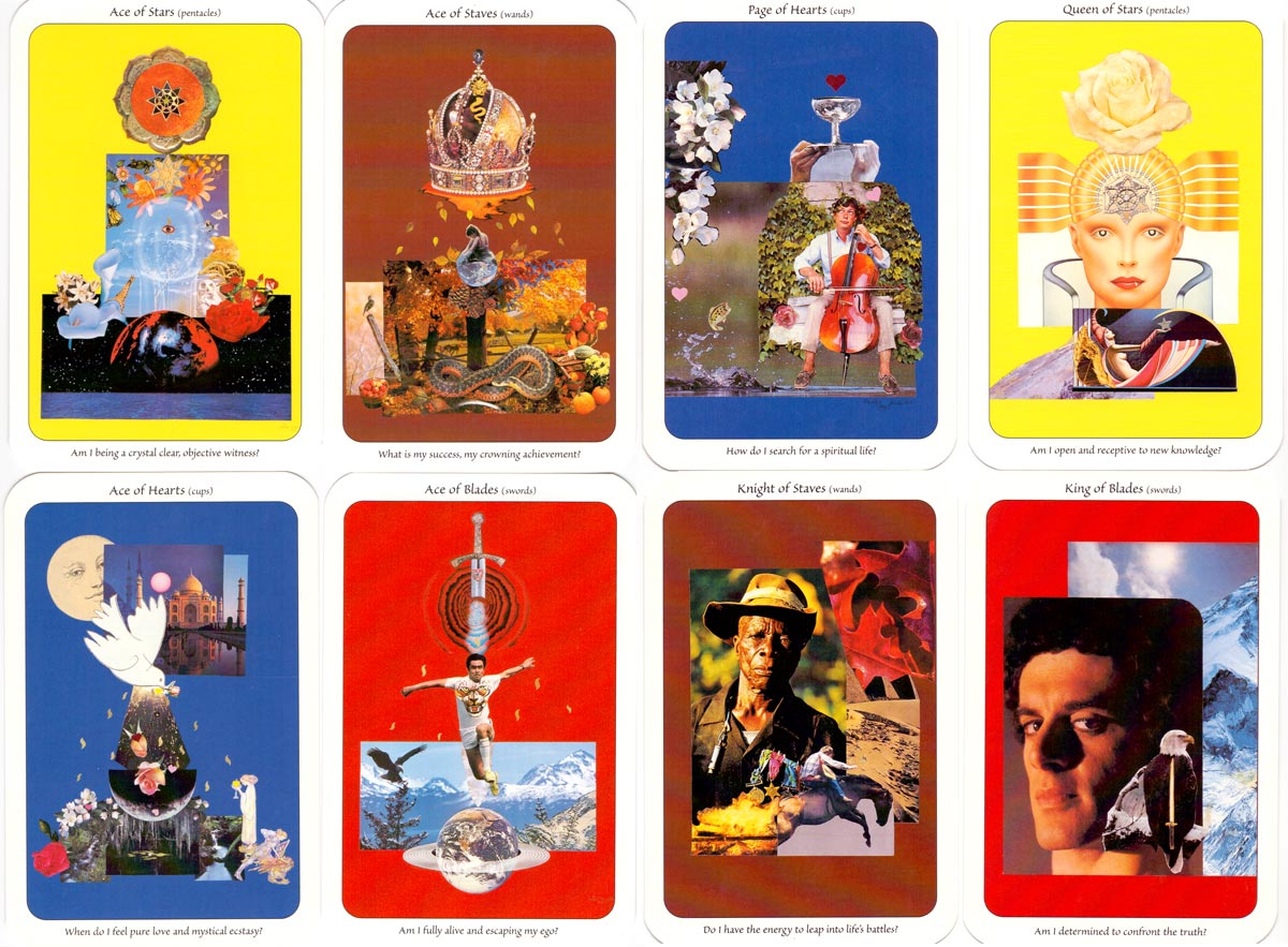 """Self-Guided Tarot"" by Cameo Victor, published by Cameo Productions, 1999"