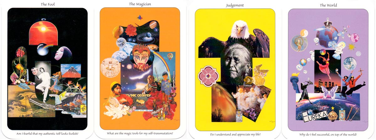 """""""Self-Guided Tarot"""" by Cameo Victor, published by Cameo Productions, 1999"""