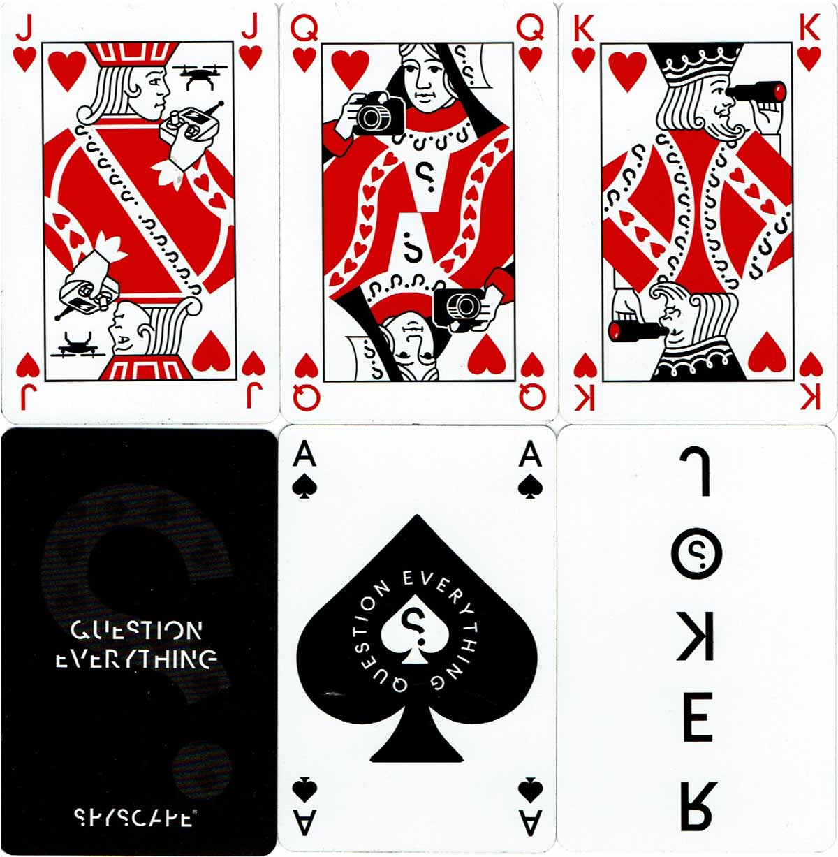 Spyscape Playing Cards, 2018