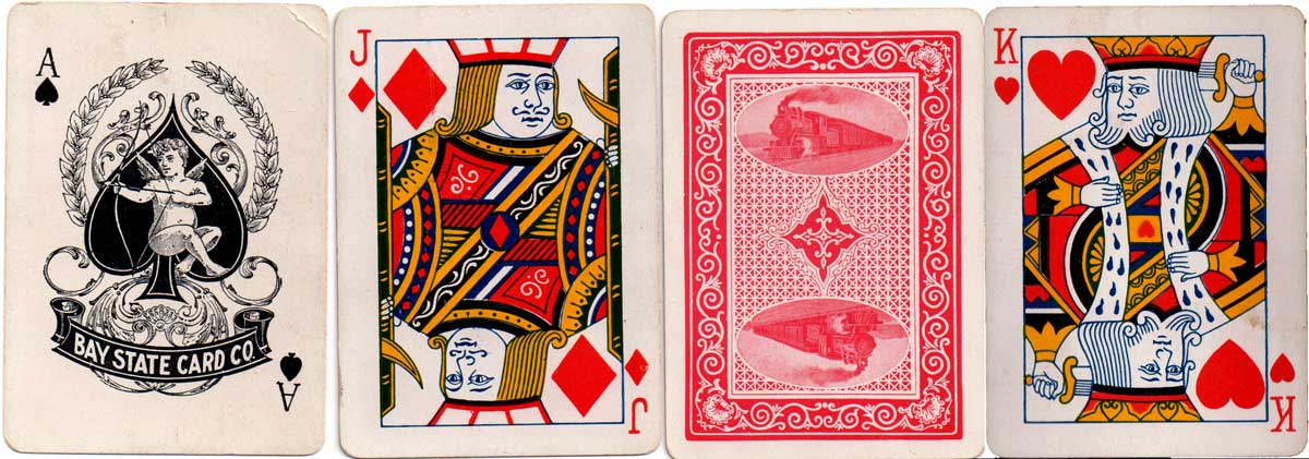 Cards by Bay State Card Co., c.1900