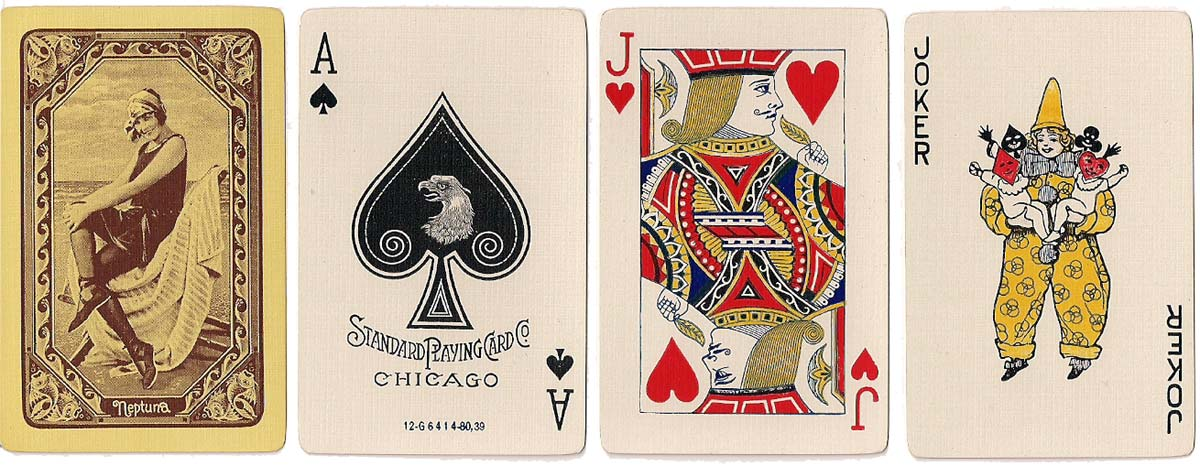 """Neptuna"" made by the Standard Playing Card Company, 1925"