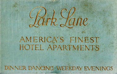 box from Park Lane Playing Cards, c.1925