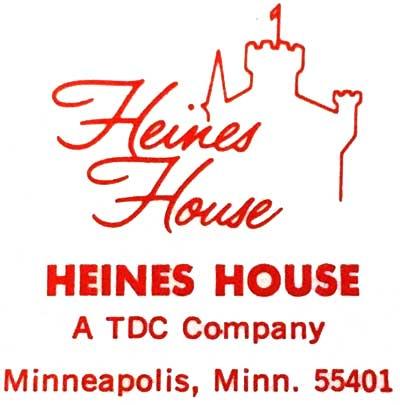 Heines House logo, c.1970