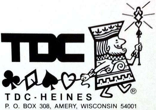 TDC-Heines logo, c.1975