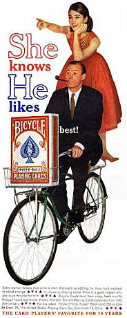 Bicycle advert