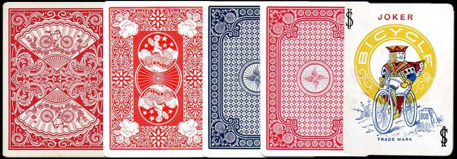 Bicycle playing card backs