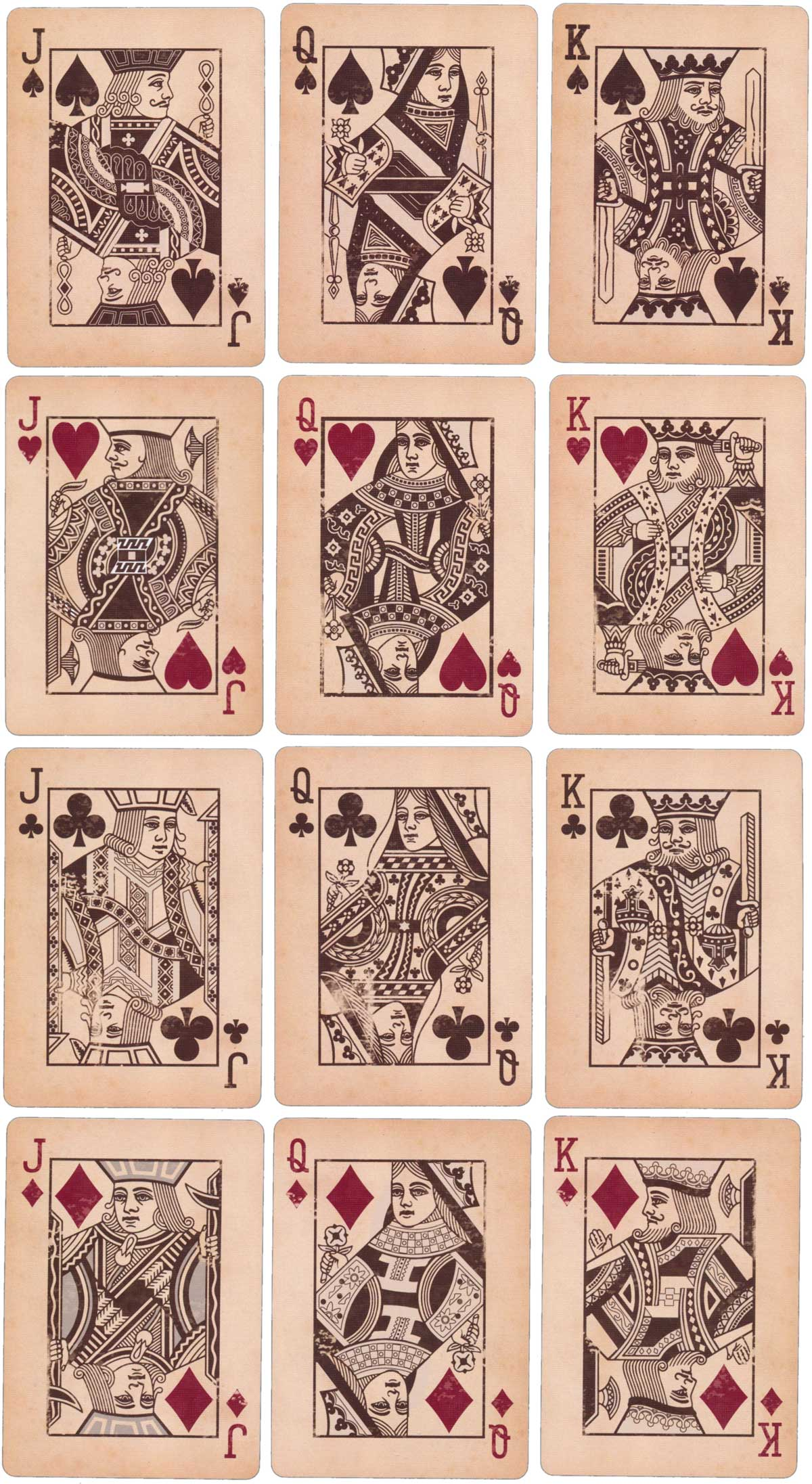 Bicycle Heritage playing cards by the United States Playing Card Company, 2012