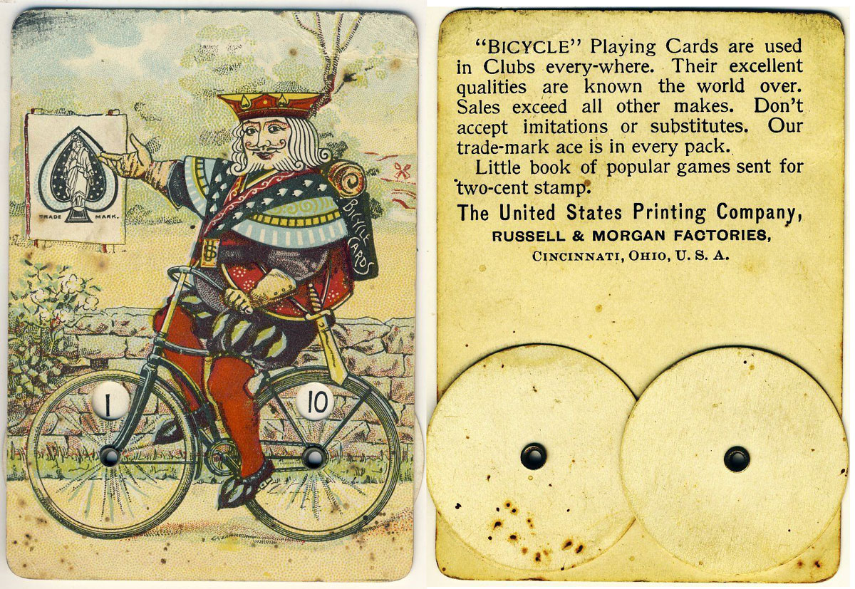 Bicycle No 808 The World Of Playing Cards