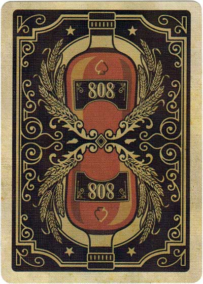 Bicycle 808 Bourbon by US Playing Card Company 2017