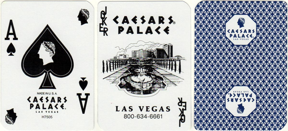 Aristocrat Casino Cards for Caesars Palace Casino by USPCC 2006