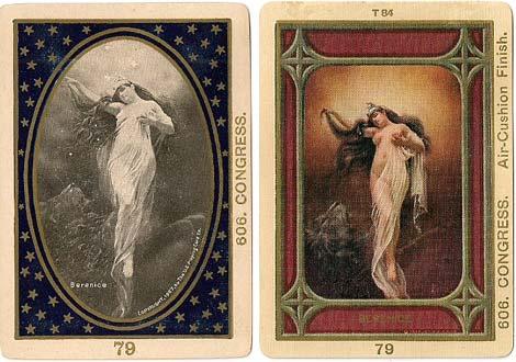 "Congress No.606 backs titled ""Berenice"" by U.S.P.C.C, c.1900"