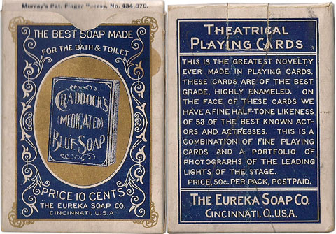 box from Craddock Soap Stage Souvenir Deck, 1895