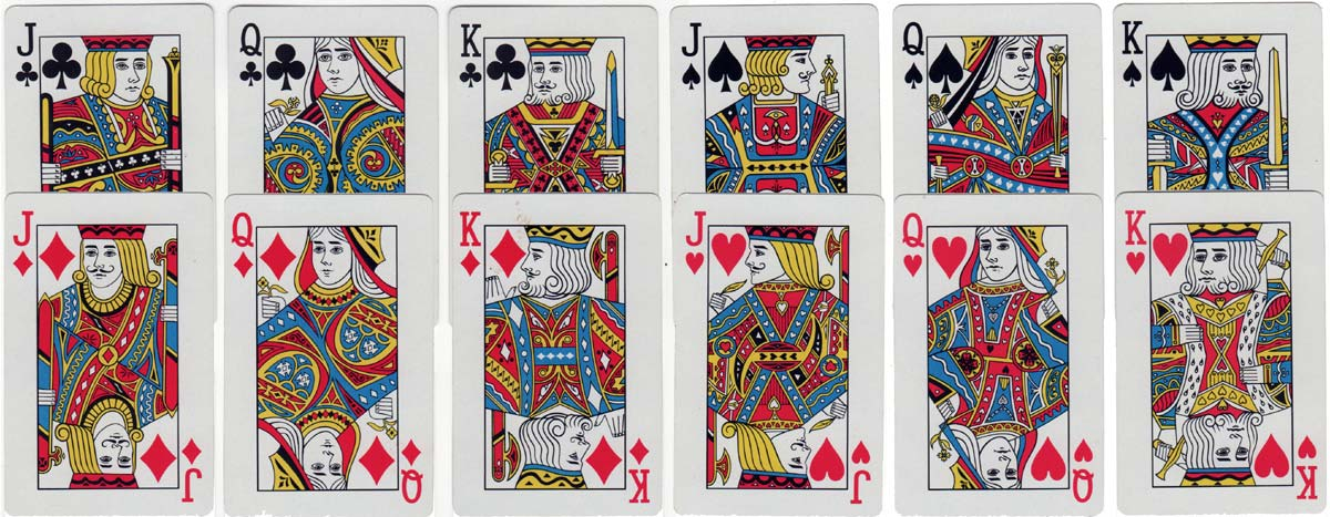"dual-deck of ""Designer Collection"" by Diamond Playing Card (DPC Ltd), c.1970s"
