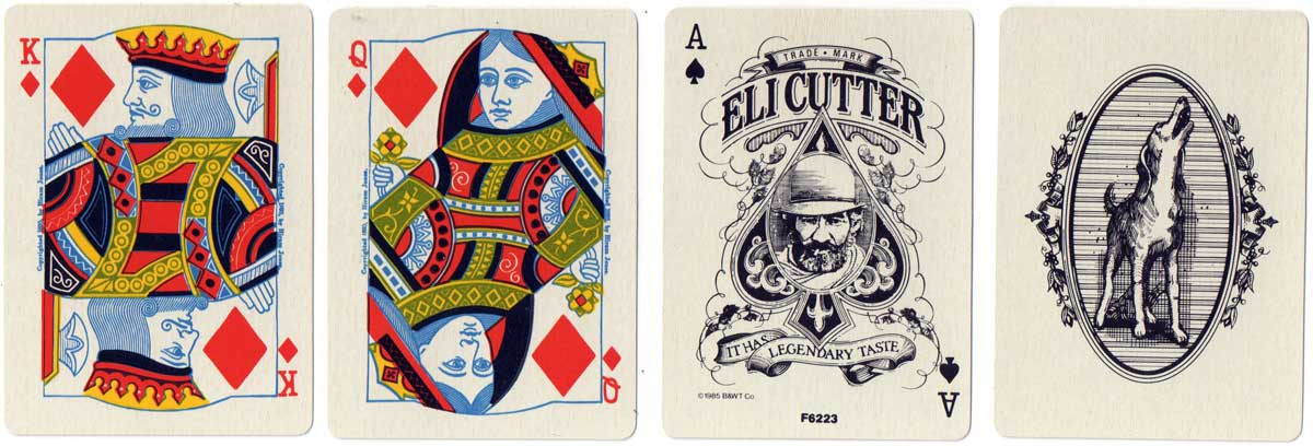 'Eli CUtter' playing cards