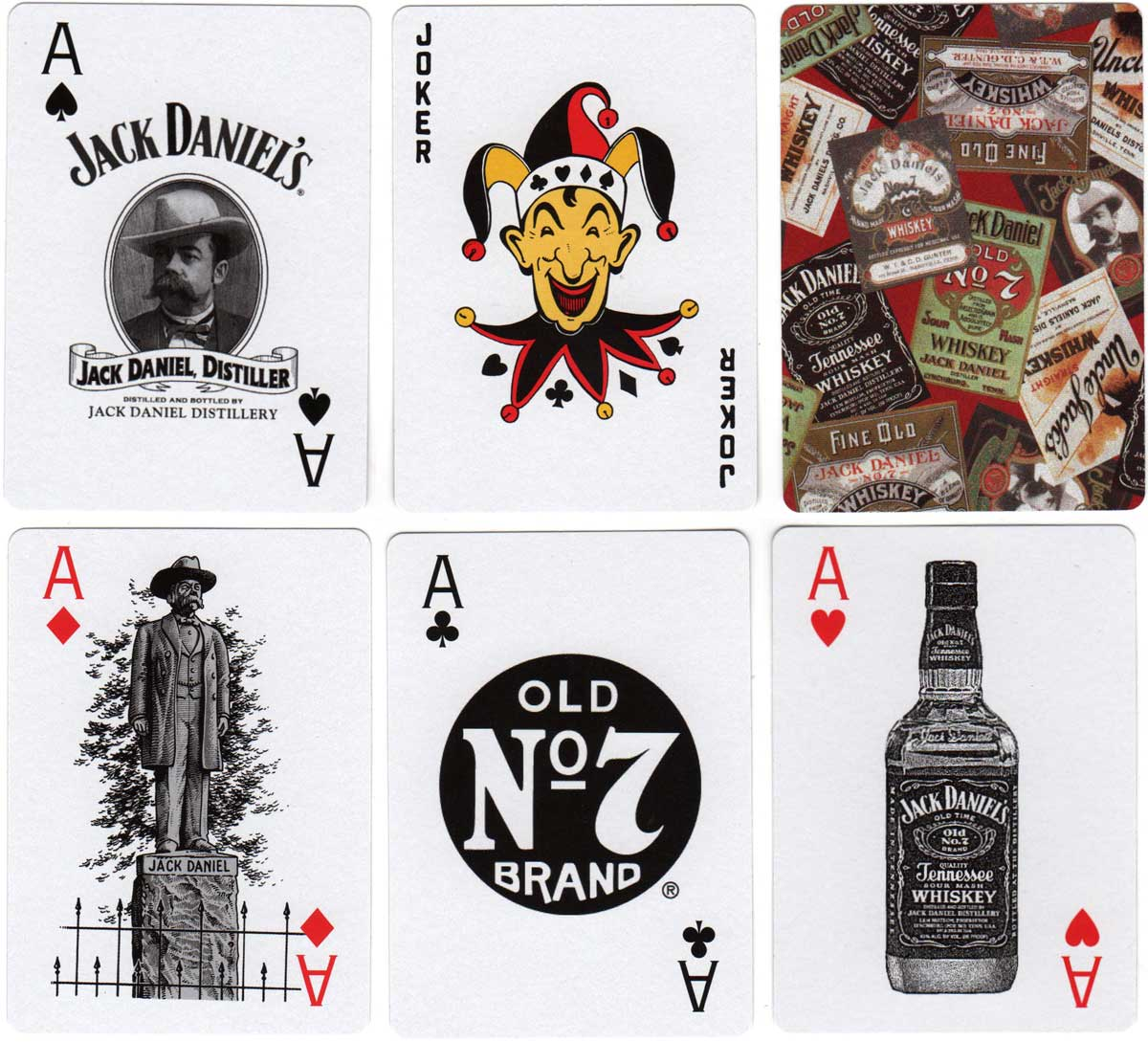 special deck for Jack Daniel's published by Hoyle Products, 2003