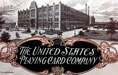 U.S. Playing  Card Company letterhead, image courtesy Dean Canter
