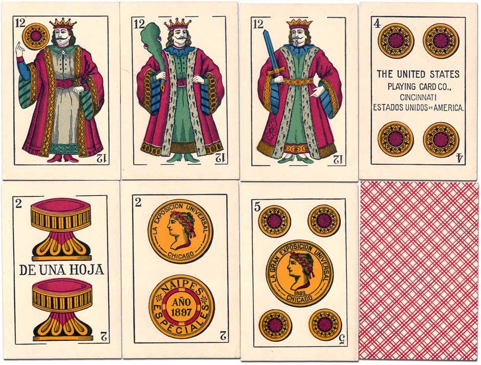 Naipes Los Leones #71, c.1898