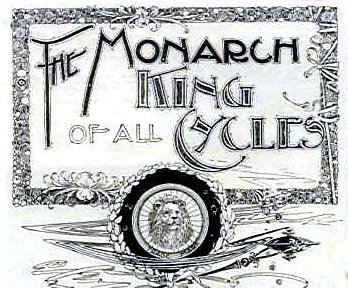 Monarch Bicycle advertisement, 1895