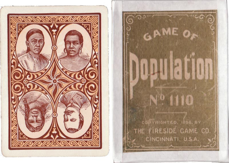 Game of Population by the Fireside Game Co., Cincinnati, c.1896