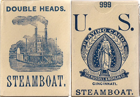 box from Steamboat No.999 produced by Russell & Morgan Co., Cincinnati, USA, c.1883