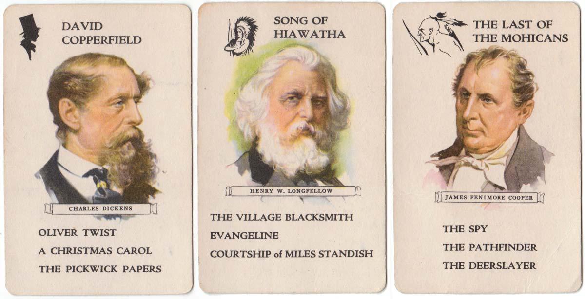 Authors quartet game published by Whitman Publishing Co., 1951