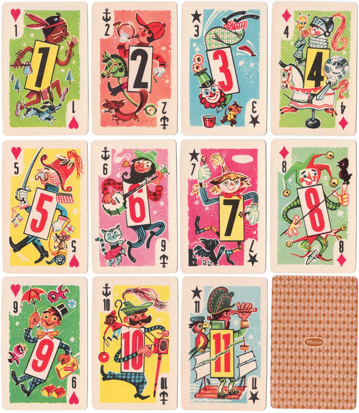 Crazy Eights by Whitman Publishing Co., 1951
