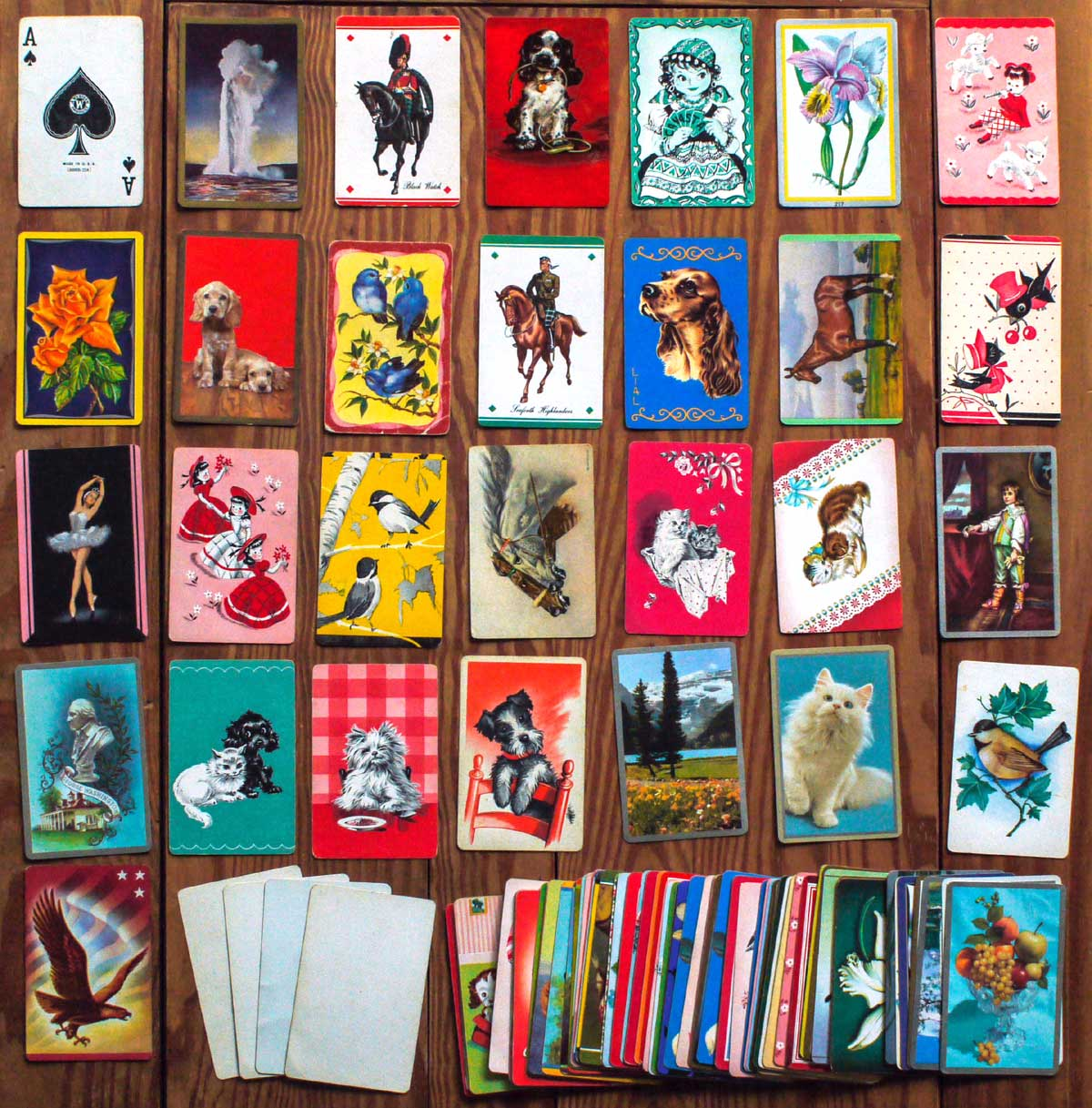 Salesman's Sample Cards, c.1940
