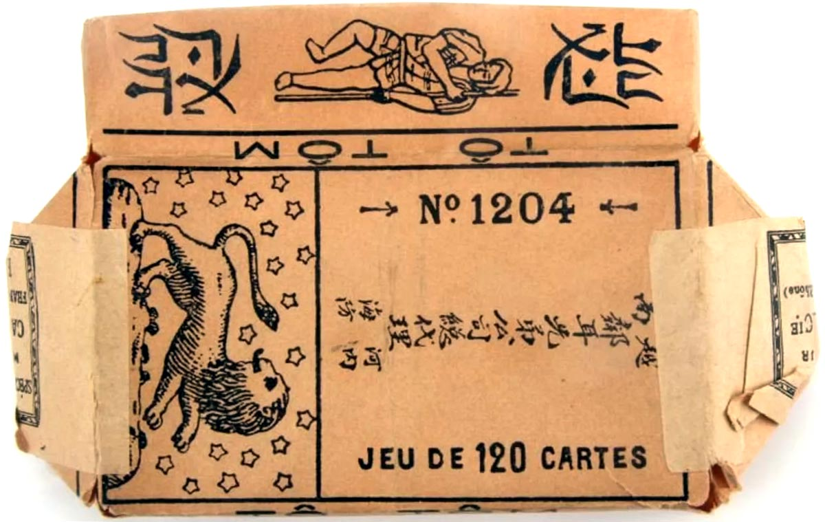Tô Tôm cards manufactured by A. Camoin & Cie, Marseille, c.1900
