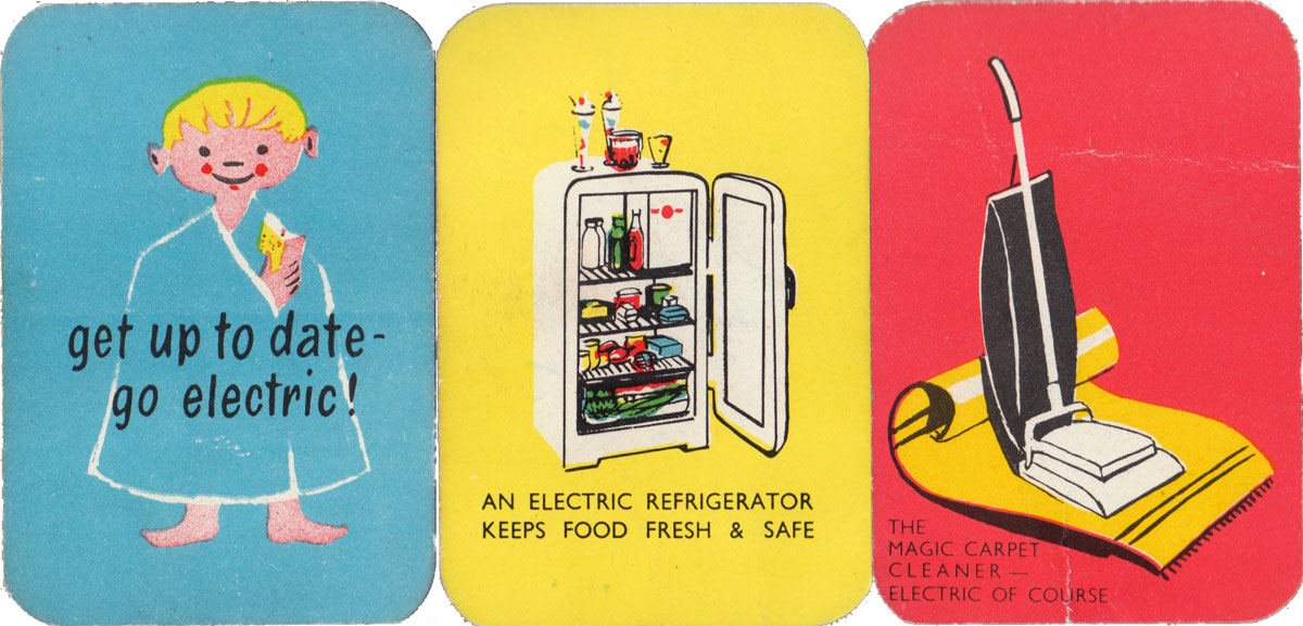 Electric Snap printed and published by the South Wales Electricity Board, 1950s