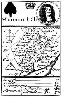 Robert Morden's The Counties of England and Wales (1676)