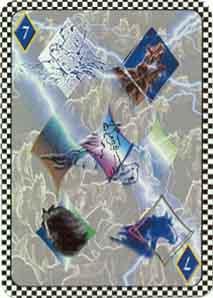 7 of diamonds by Simon Park