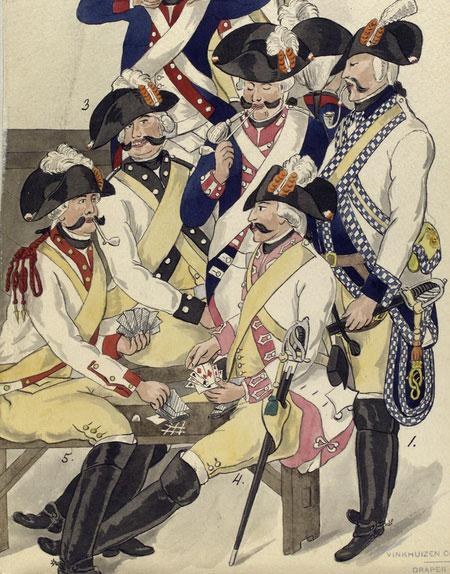Corps de Guard, 1789
