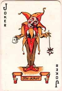 Universal Playing Card Co. Joker, 1930s