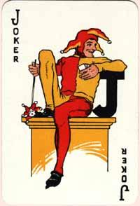 Special Joker for L.G.Sloan Ltd, London, 1930s