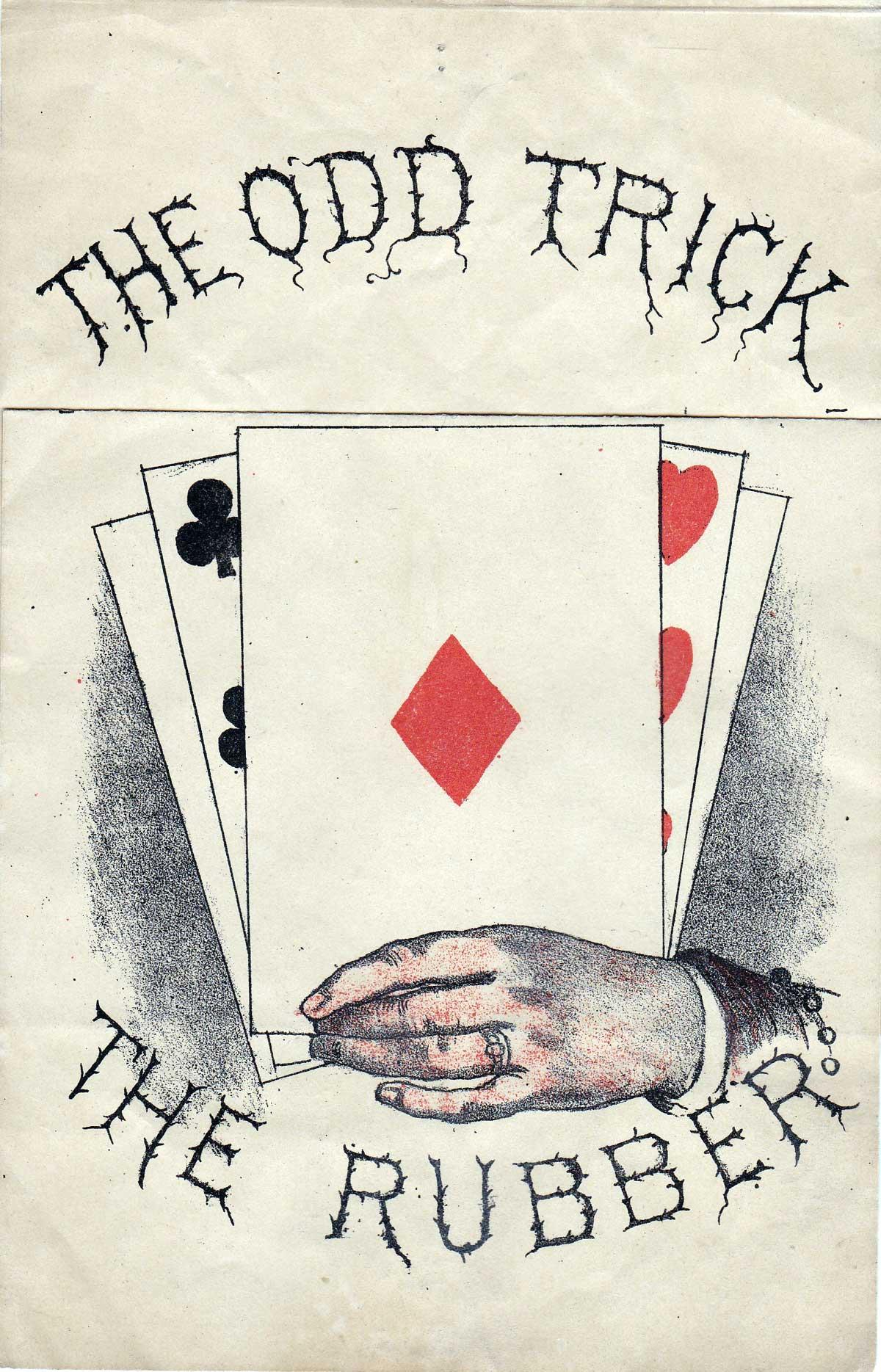 The Odd Trick - a bit of Edwardian naughtiness