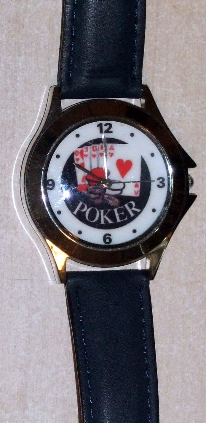 """Las Vegas """"Poker"""" Watch"""
